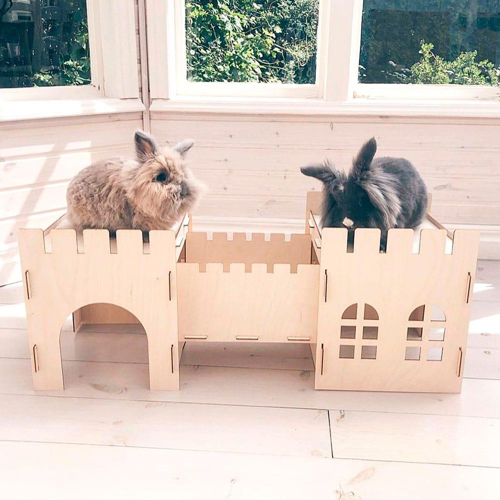 Château pour lapin
