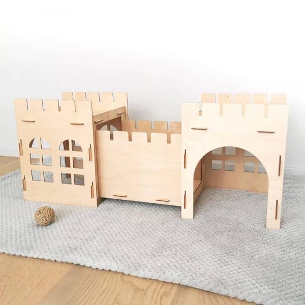 Cabane pour lapin | Castle Bunny Mon Lapin Nain 9