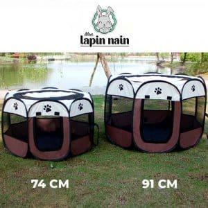 Enclos portable pour lapin Mon Lapin Nain 2